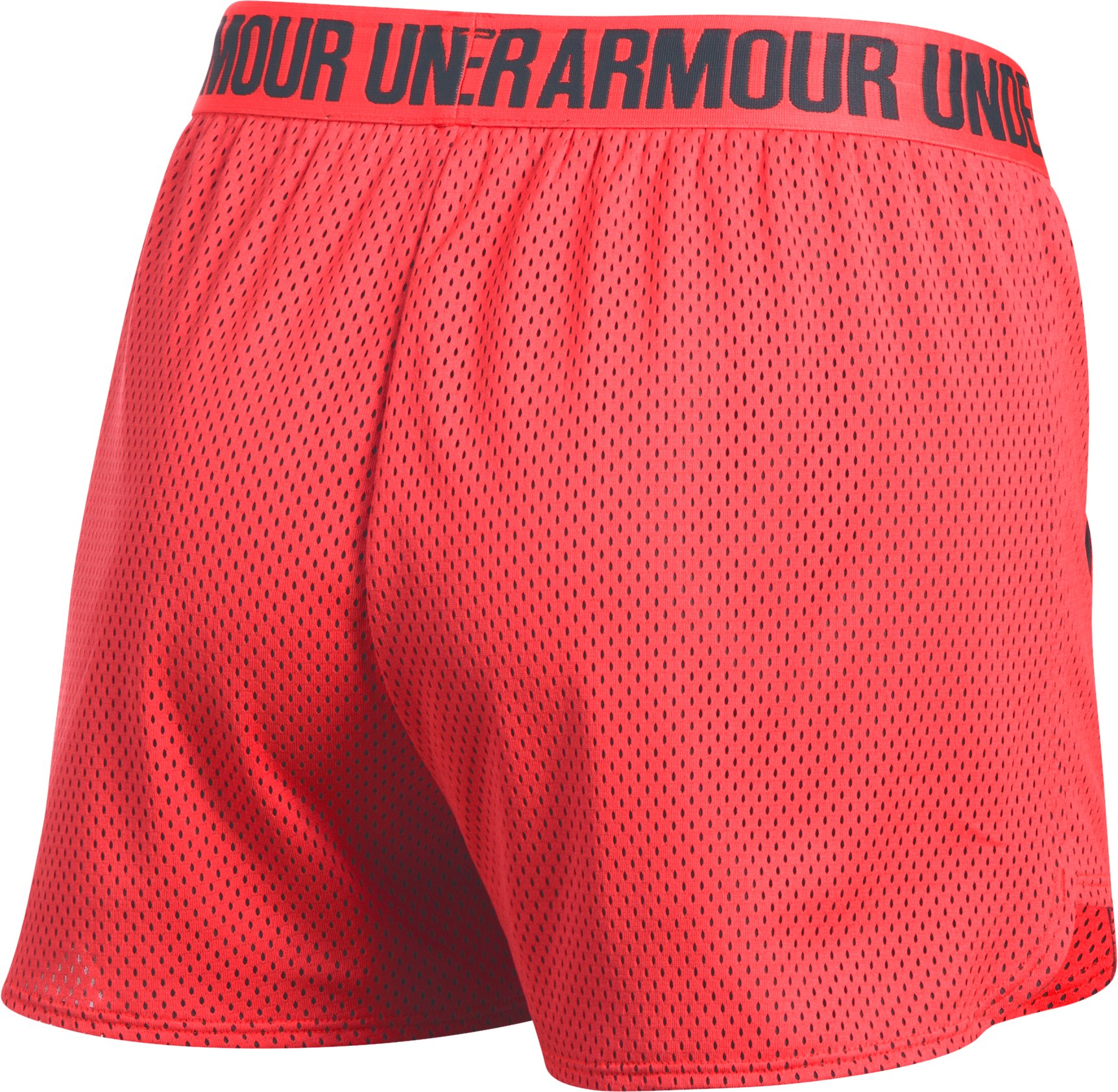 Women's UA Play Up Shorts 2.0 - Mesh, MARATHON RED, undefined