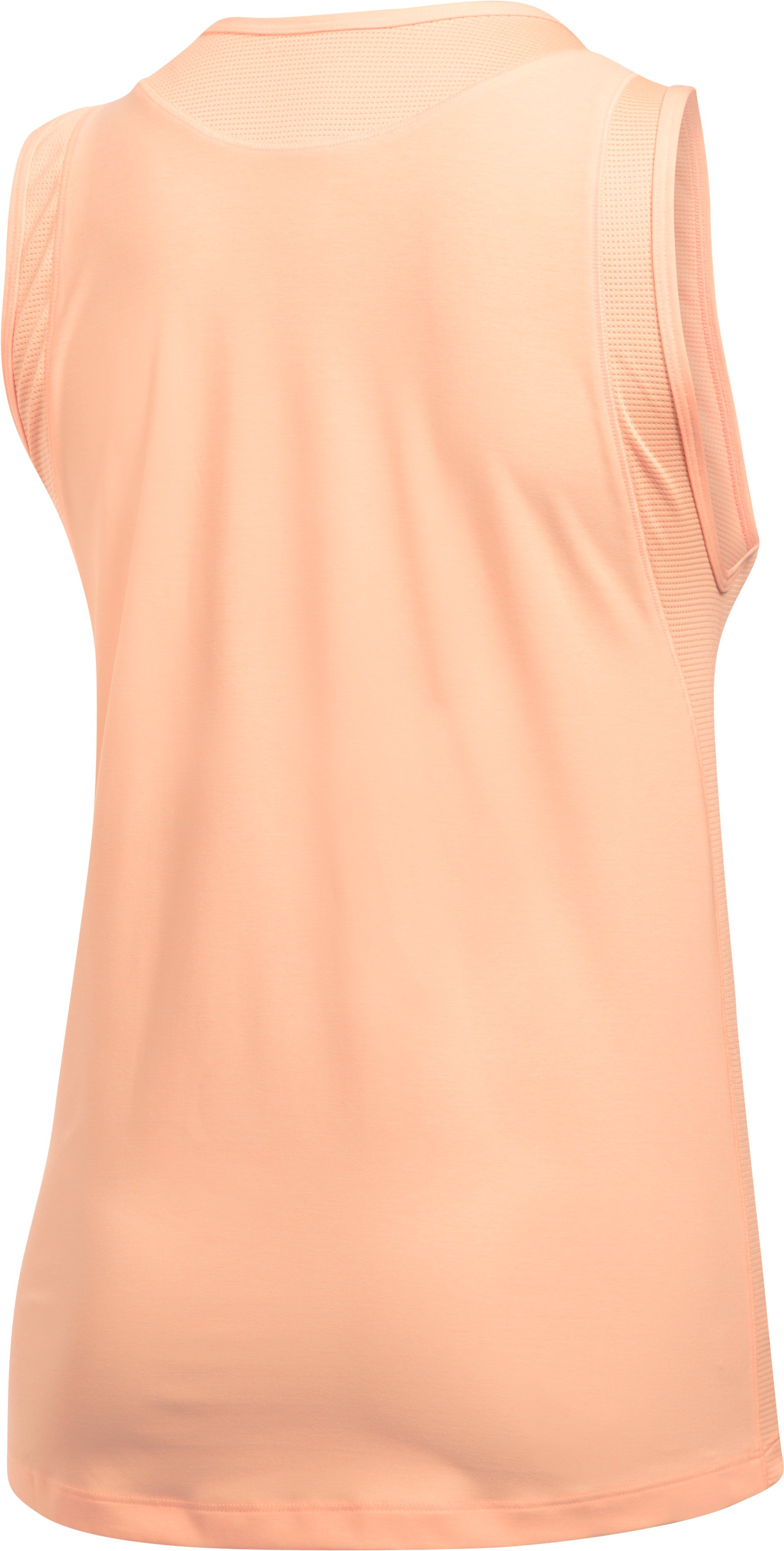 Women's UA Got Game Twist Muscle Tank, PLAYFUL PEACH,