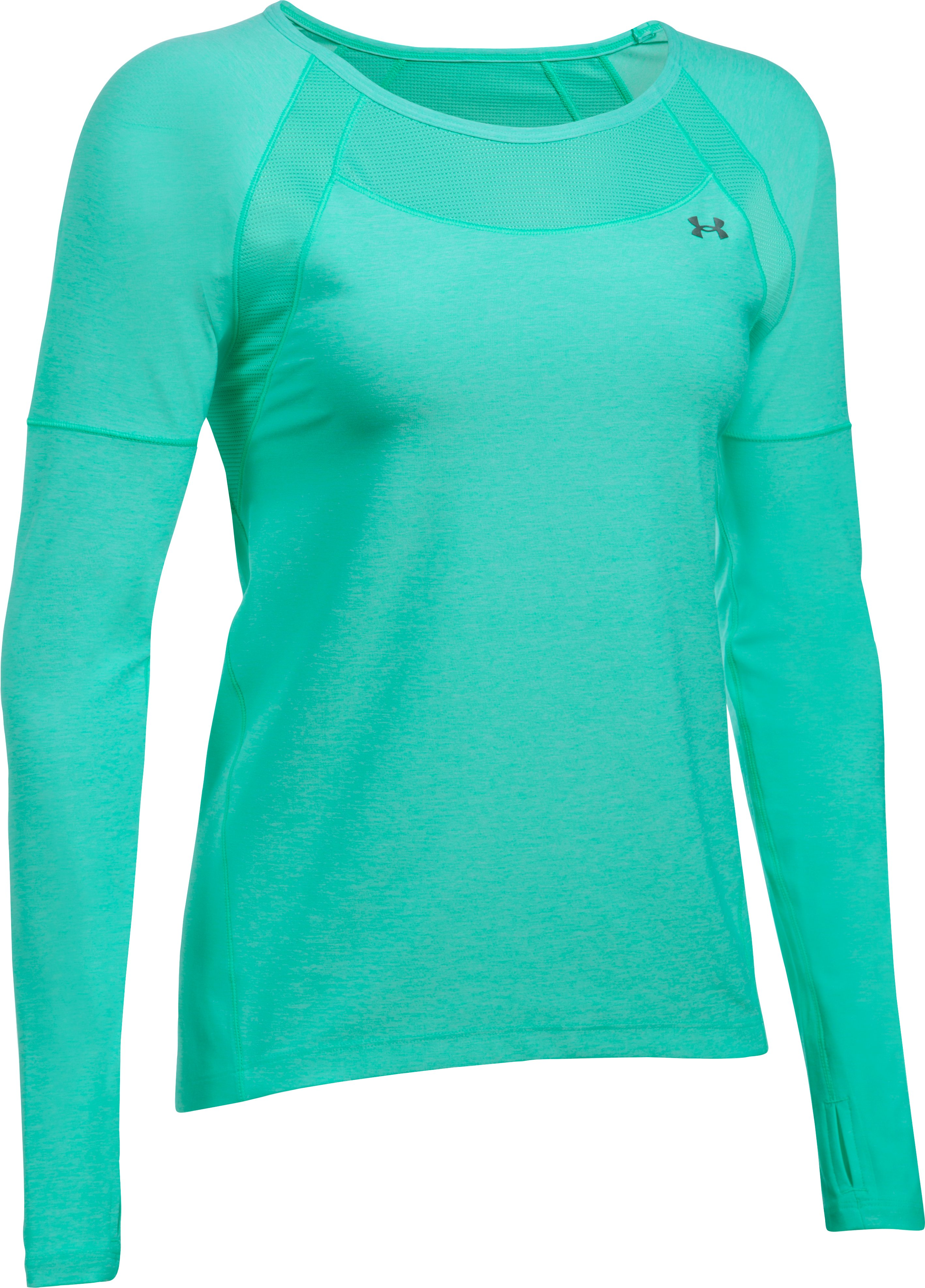 Women's UA Got Game Twist Long Sleeve, ABSINTHE GREEN