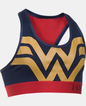Girls' Under Armour® Alter Ego Wonder Woman Armour® Bra  1 Color $29.99
