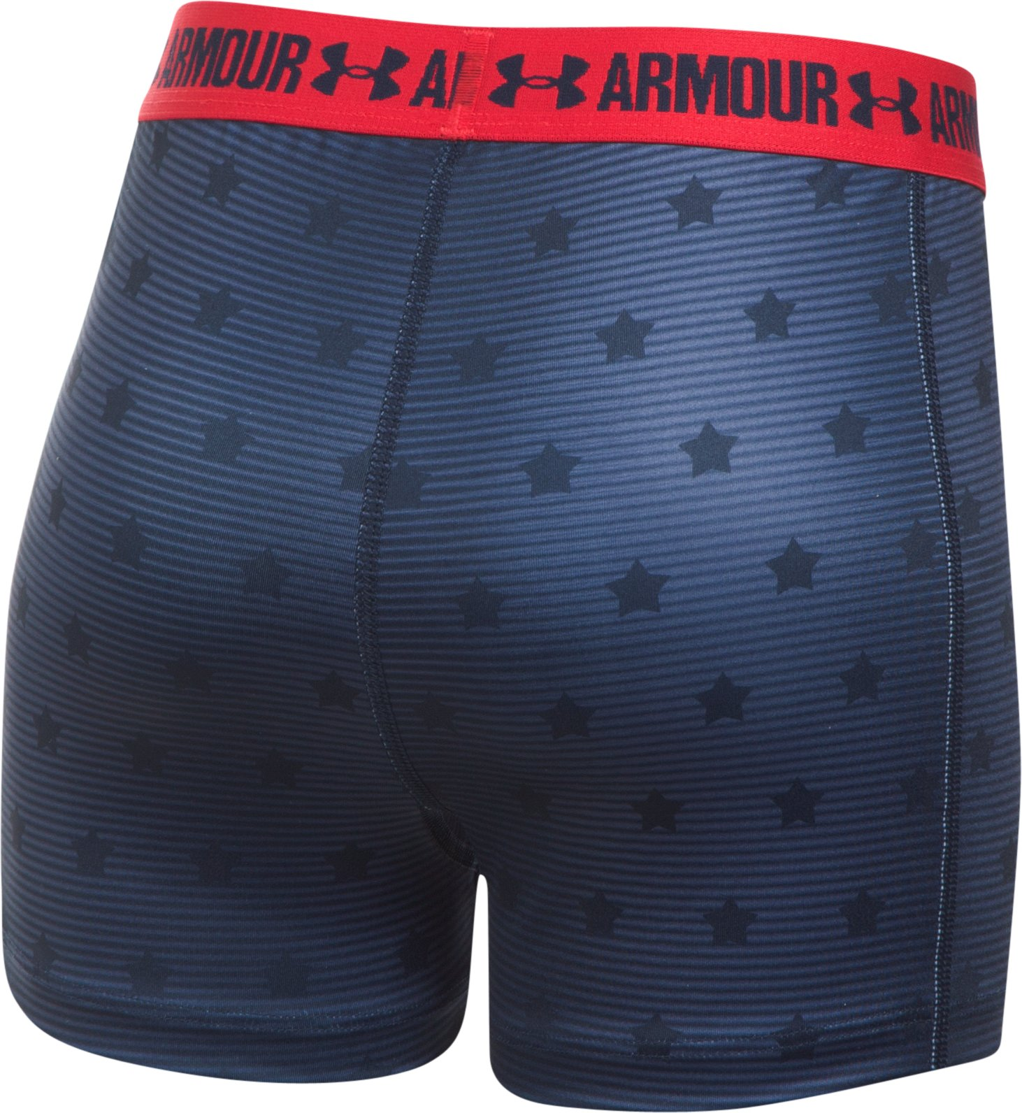 Girls' Under Armour® Alter Ego Wonder Woman Armour® Shorty, Midnight Navy,