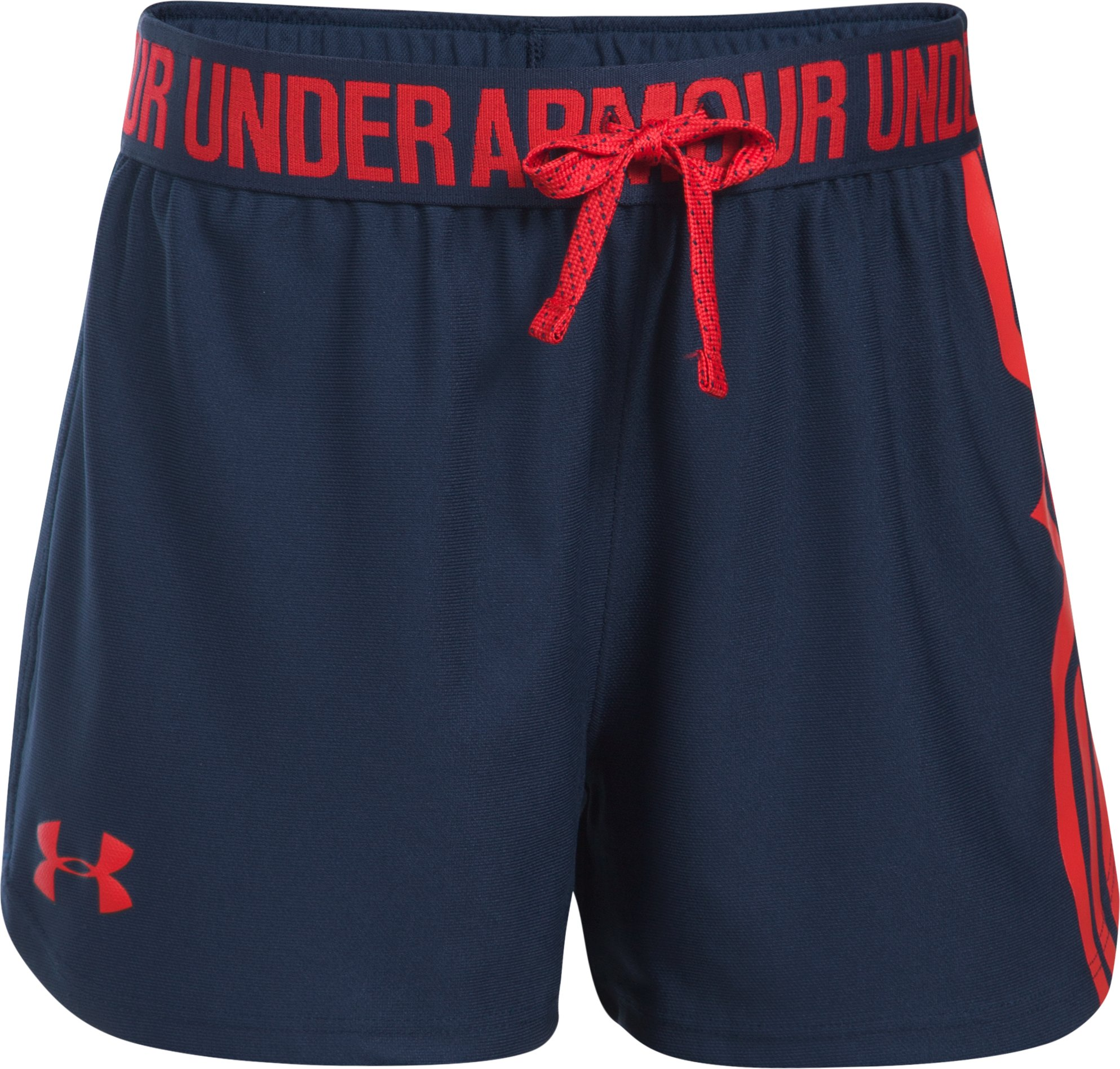 Girls' Under Armour® Alter Ego Wonder Woman Play Up Shorts, Midnight Navy, undefined