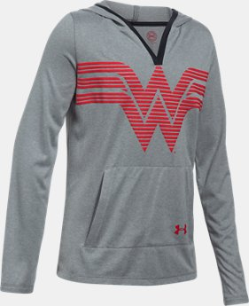 Girls' Under Armour® Alter Ego Wonder Woman UA Tech™ Hoodie   $44.99