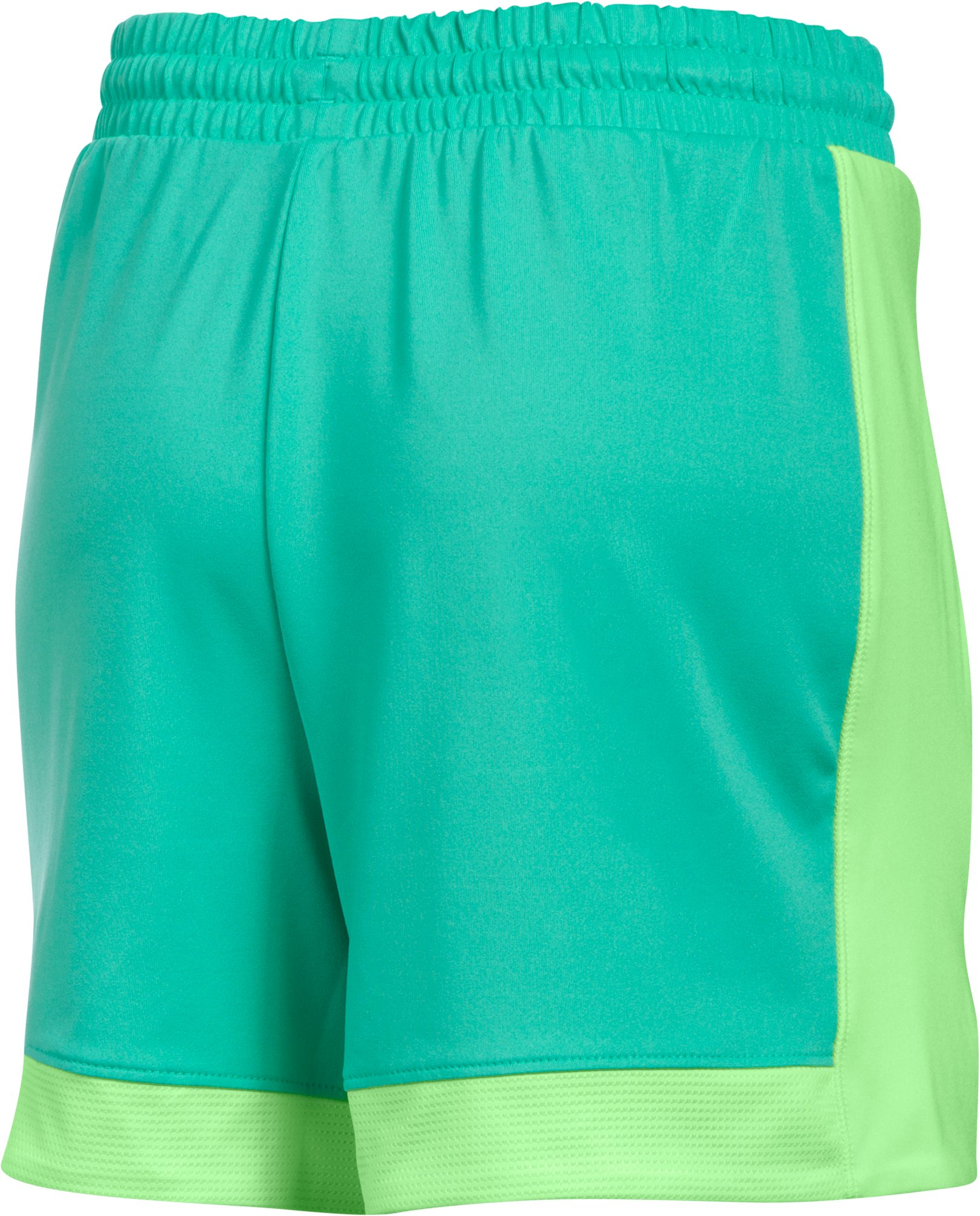 Girls' Armour Sports Shorts, ABSINTHE GREEN, undefined