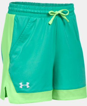 Girls' Armour Sports Shorts  1  Color Available $20.99