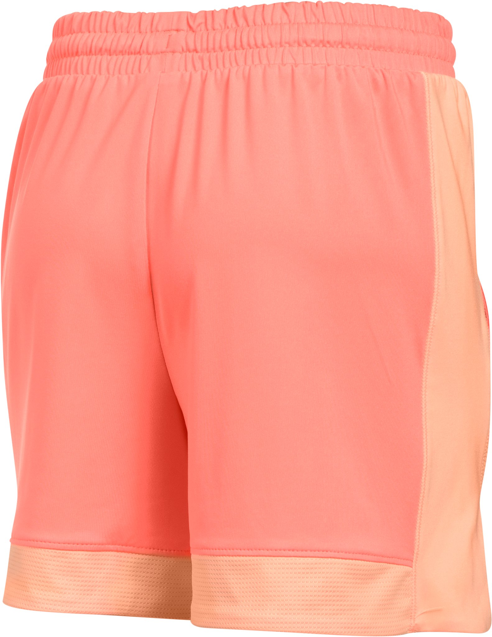 Girls' Armour Sports Shorts, LONDON ORANGE,