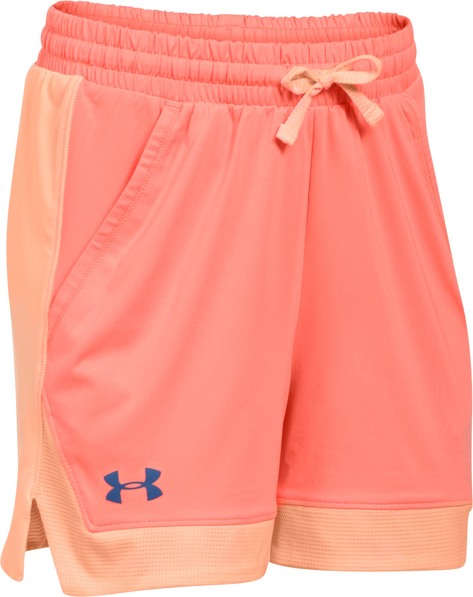 Girls' Armour Sports Shorts, LONDON ORANGE