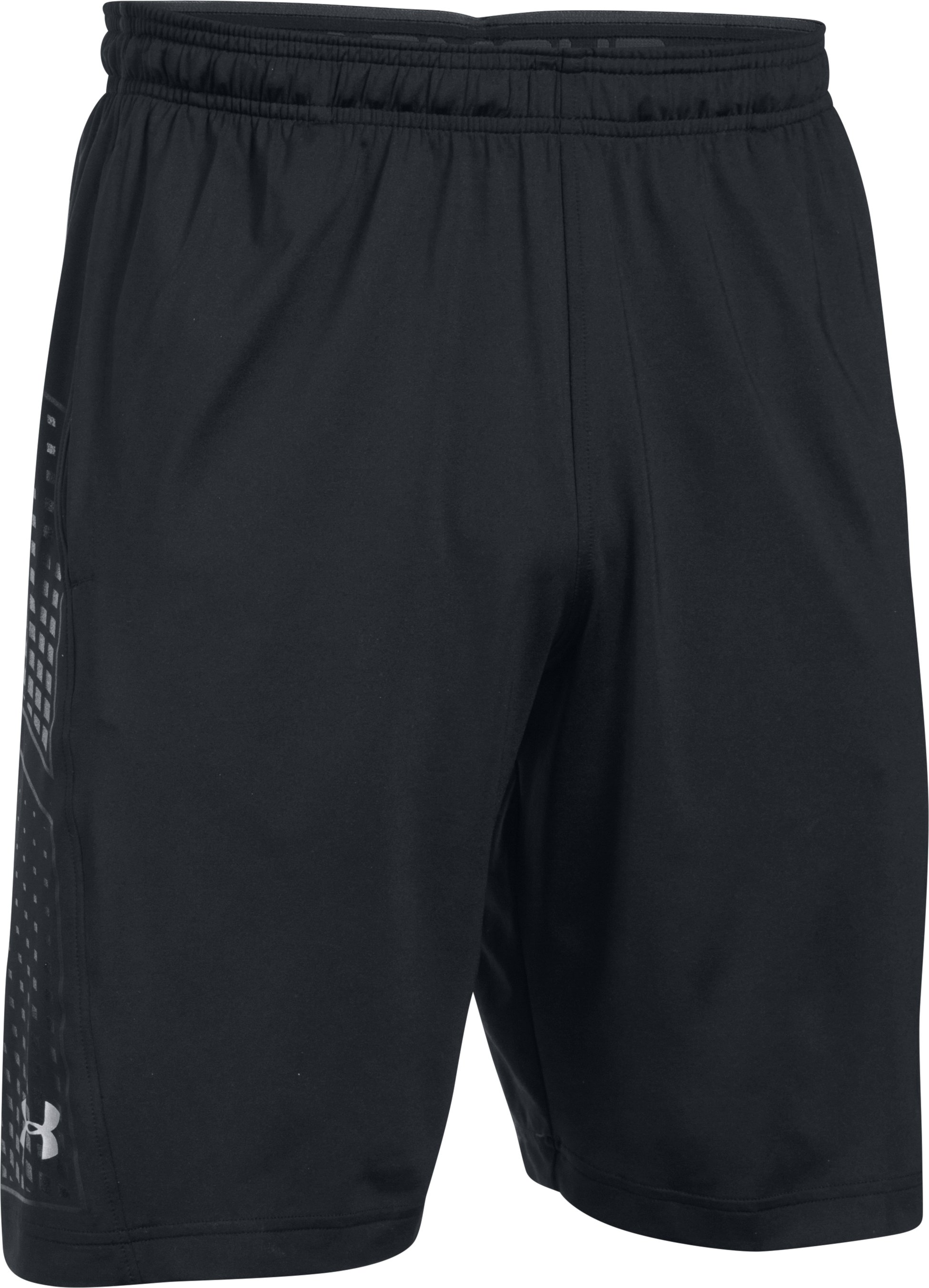 Men's UA Football Training Shorts, Black ,