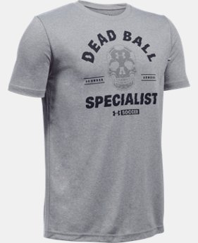 Boys' UA Dead Ball Short Sleeve T-Shirt  1 Color $19.99