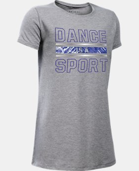 Girls' UA Dance Is A Sport Short Sleeve T-Shirt  1 Color $19.99