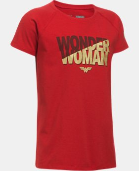 Girls' Under Armour® Alter Ego Wonder Woman Short Sleeve  1 Color $24.99