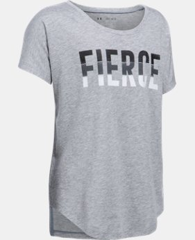 Girls' UA Fierce Short Sleeve T-Shirt  1 Color $29.99