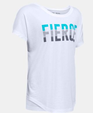 Girls' UA Fierce Short Sleeve T-Shirt