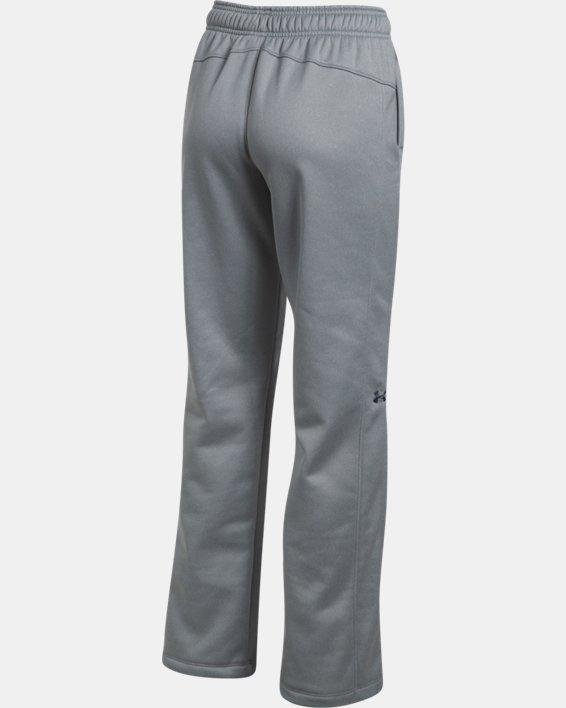 Women's  UA Double Threat Armour Fleece® Pants, Gray, pdpMainDesktop image number 8