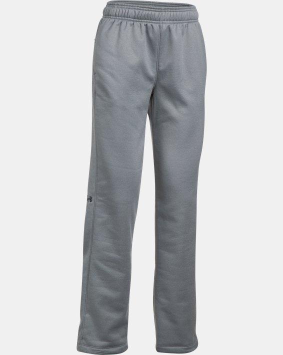 Women's  UA Double Threat Armour Fleece® Pants, Gray, pdpMainDesktop image number 7