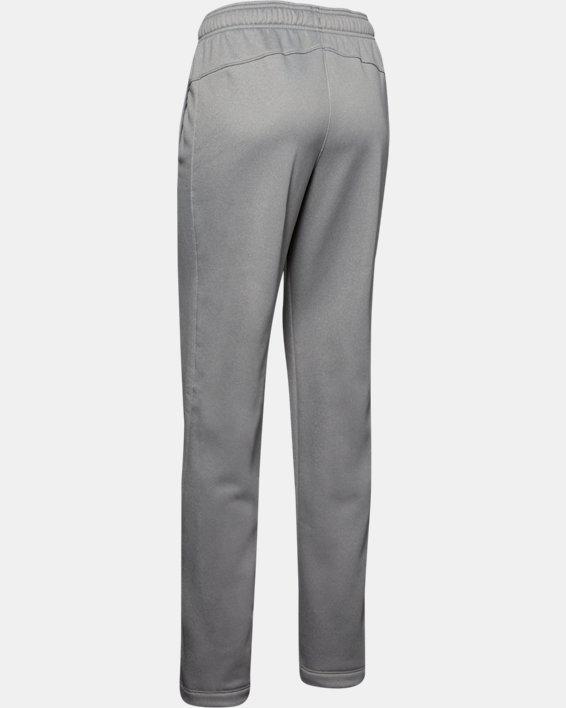 Women's  UA Double Threat Armour Fleece® Pants, Gray, pdpMainDesktop image number 6