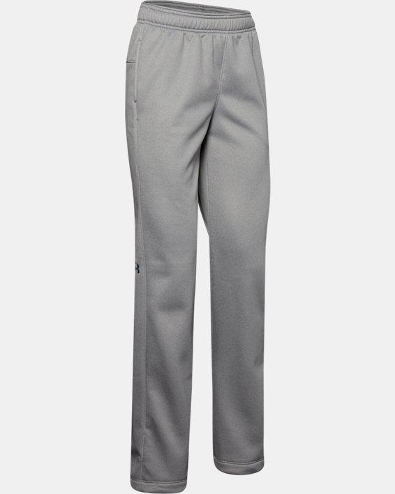 Women's  UA Double Threat Armour Fleece® Pants, Gray, pdpMainDesktop image number 5