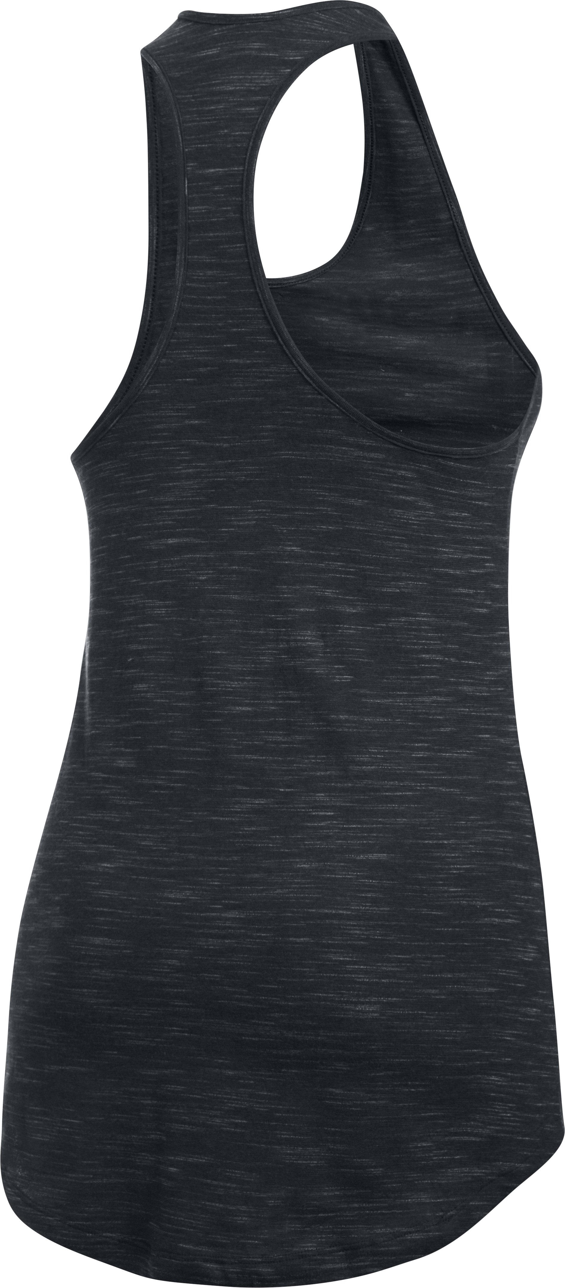 Women's UA Stadium Tank, Black ,