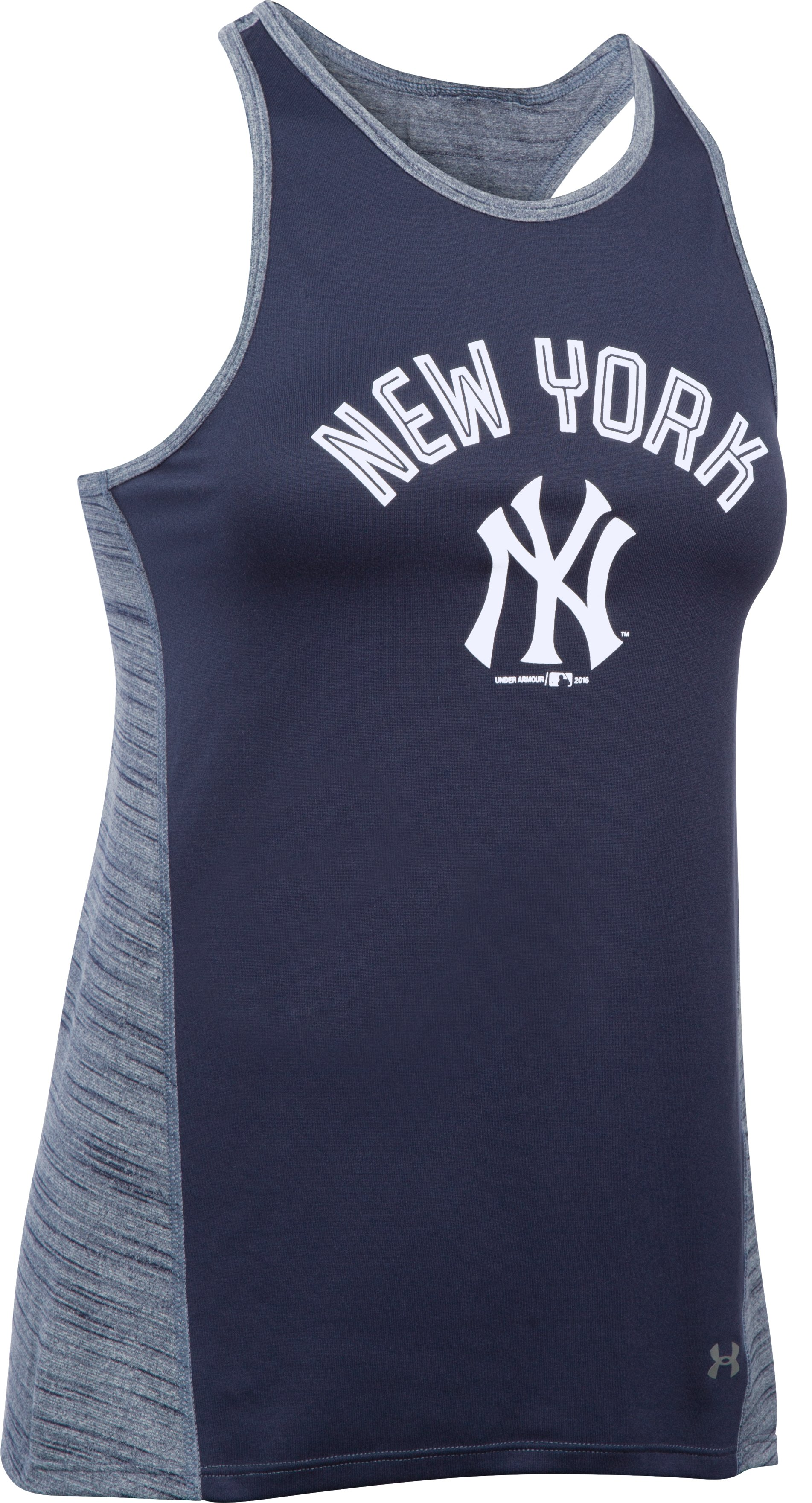 Women's New York Yankees UA Tech™ Tank, Midnight Navy