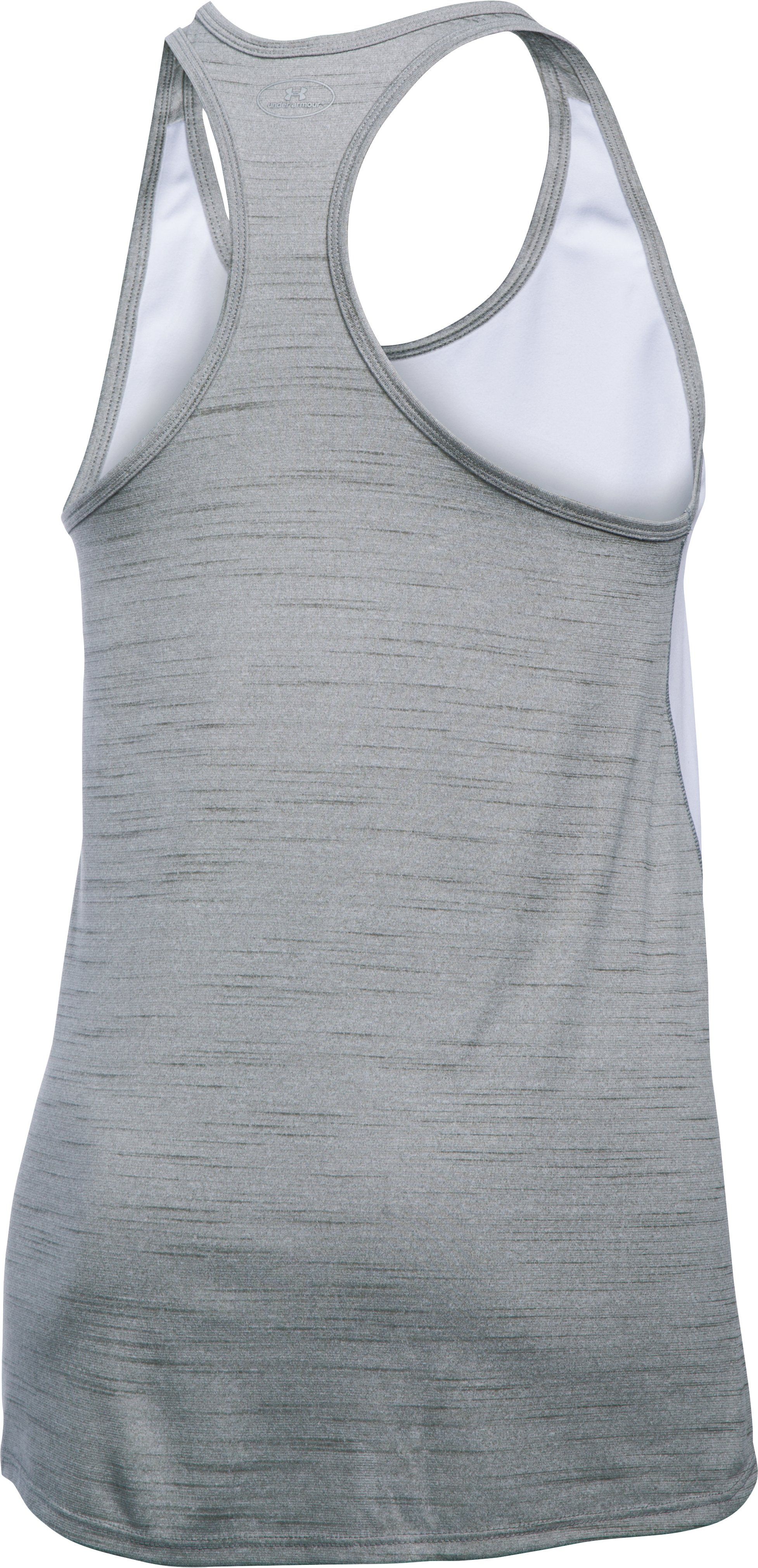 Women's Tampa Bay Rays UA Tech™ Tank, White, undefined
