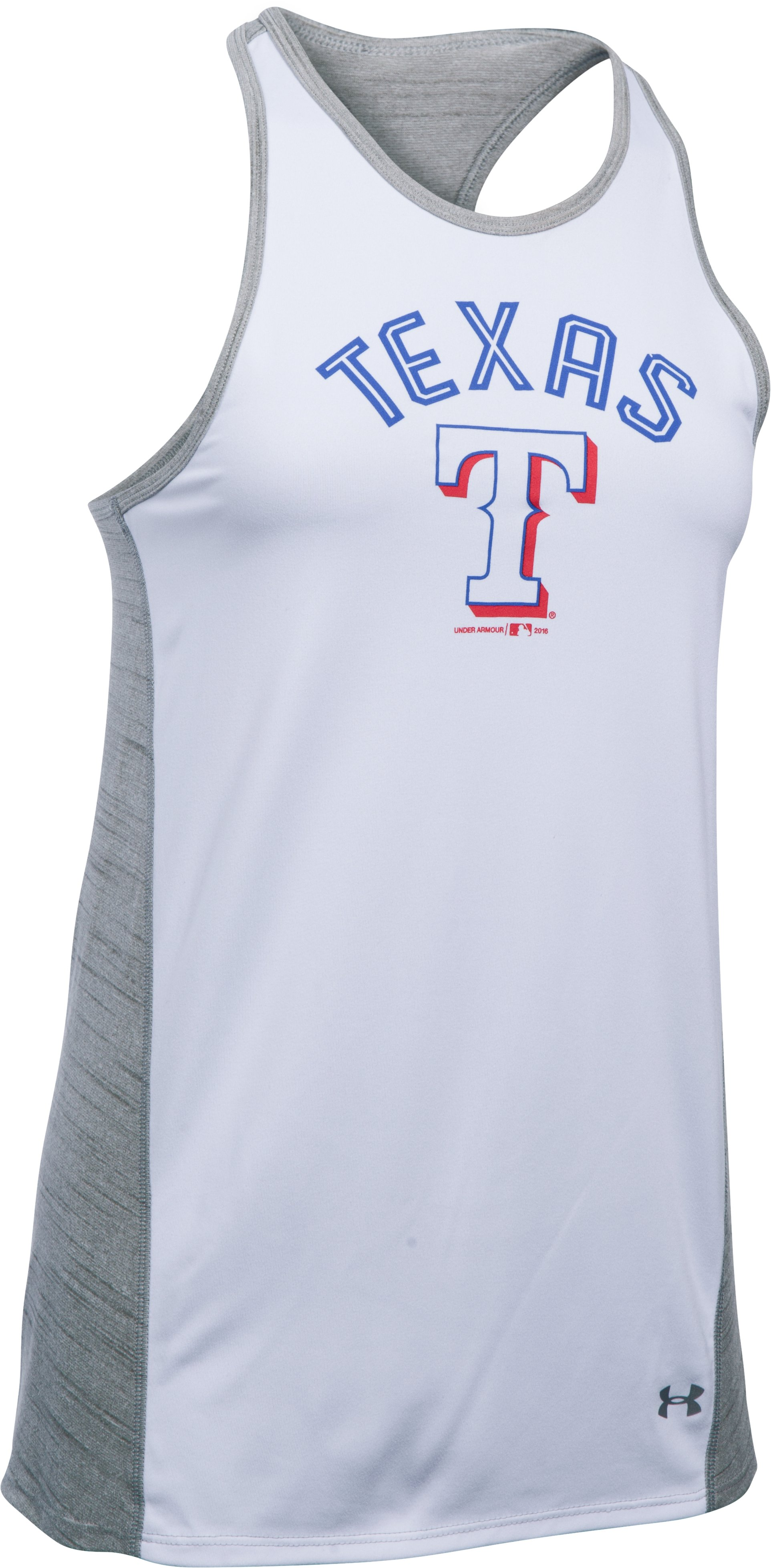 Women's Texas Rangers UA Tech™ Tank, White,