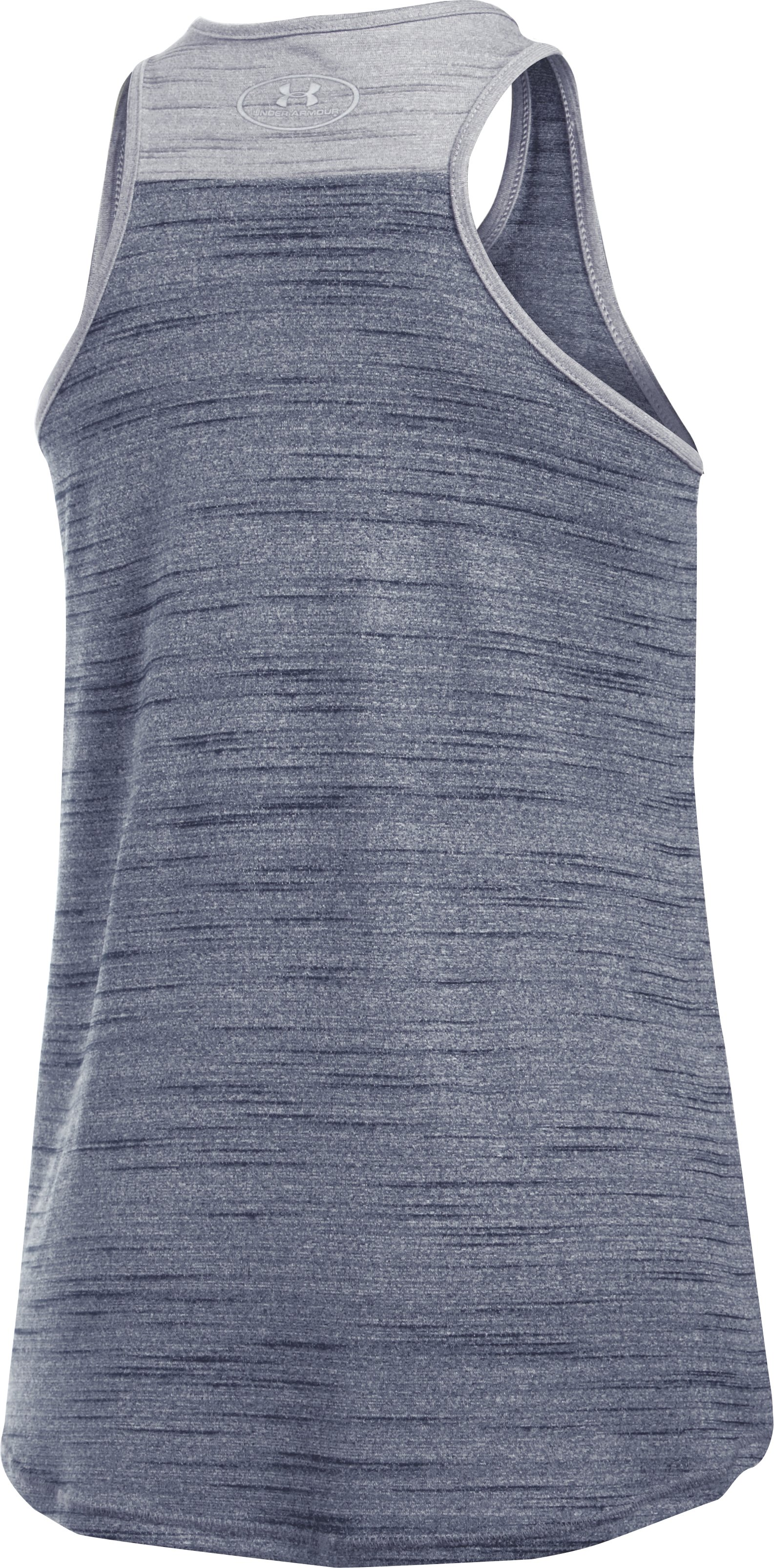 Girls' Cleveland Indians UA Tech™ Tank, Midnight Navy, undefined
