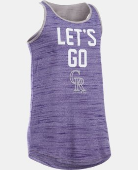 Girls' Colorado Rockies UA Tech™ Tank  1 Color $17.99