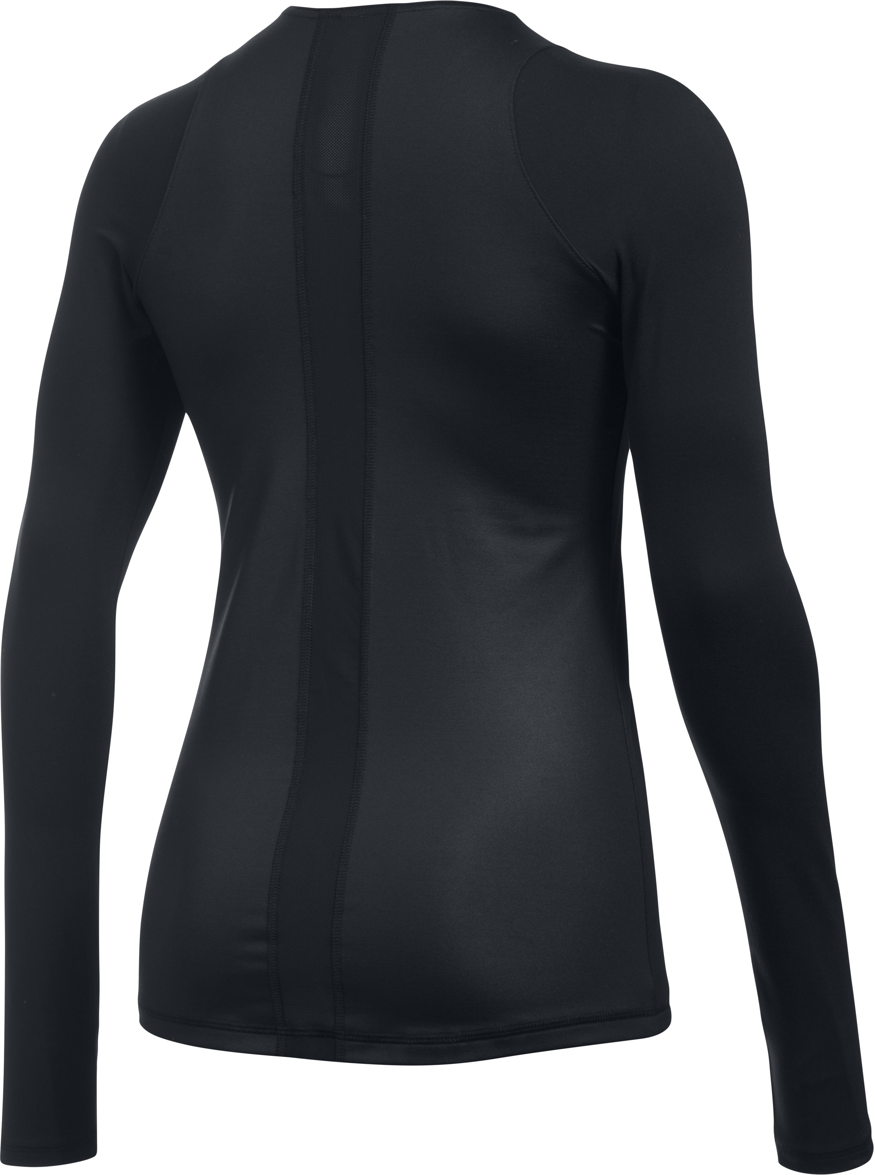 Women's UA Mirror Shine Top, Black , undefined