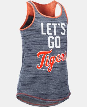 Girls' Detroit Tigers UA Tech™ Tank LIMITED TIME: FREE SHIPPING  $29.99