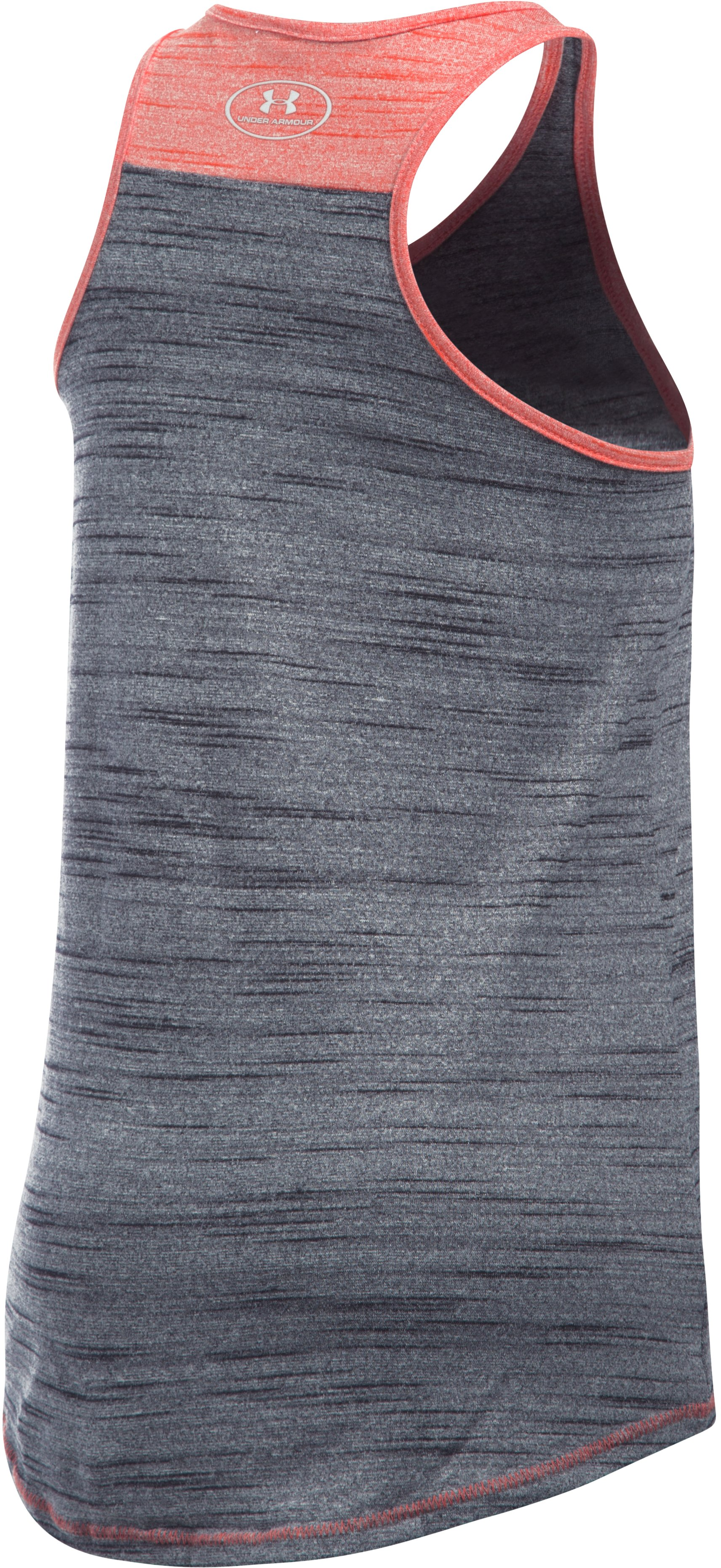 Girls' Houston Astros UA Tech™ Tank, Black