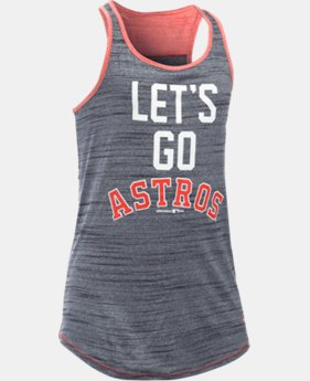 Girls' Houston Astros UA Tech™ Tank
