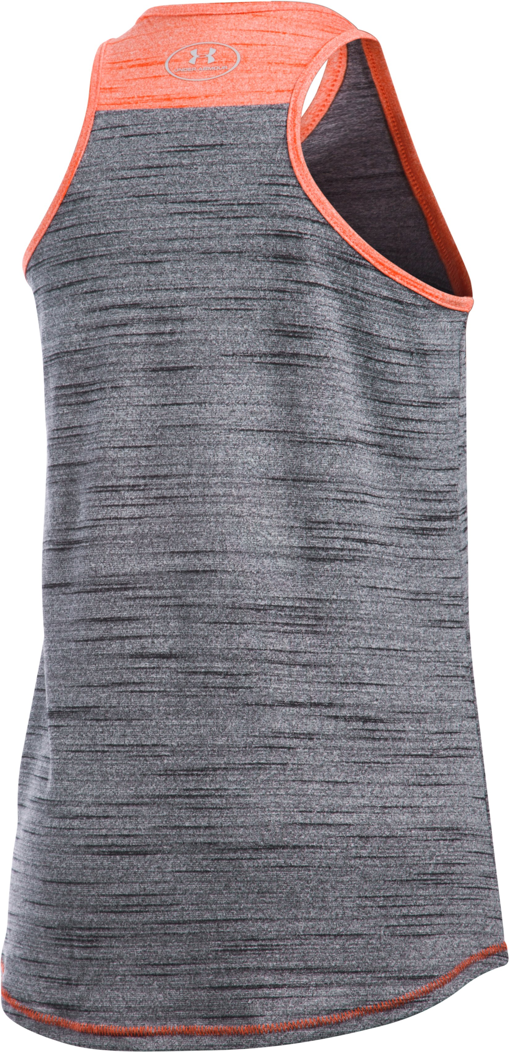 Girls' Miami Marlins UA Tech™ Tank, Black ,