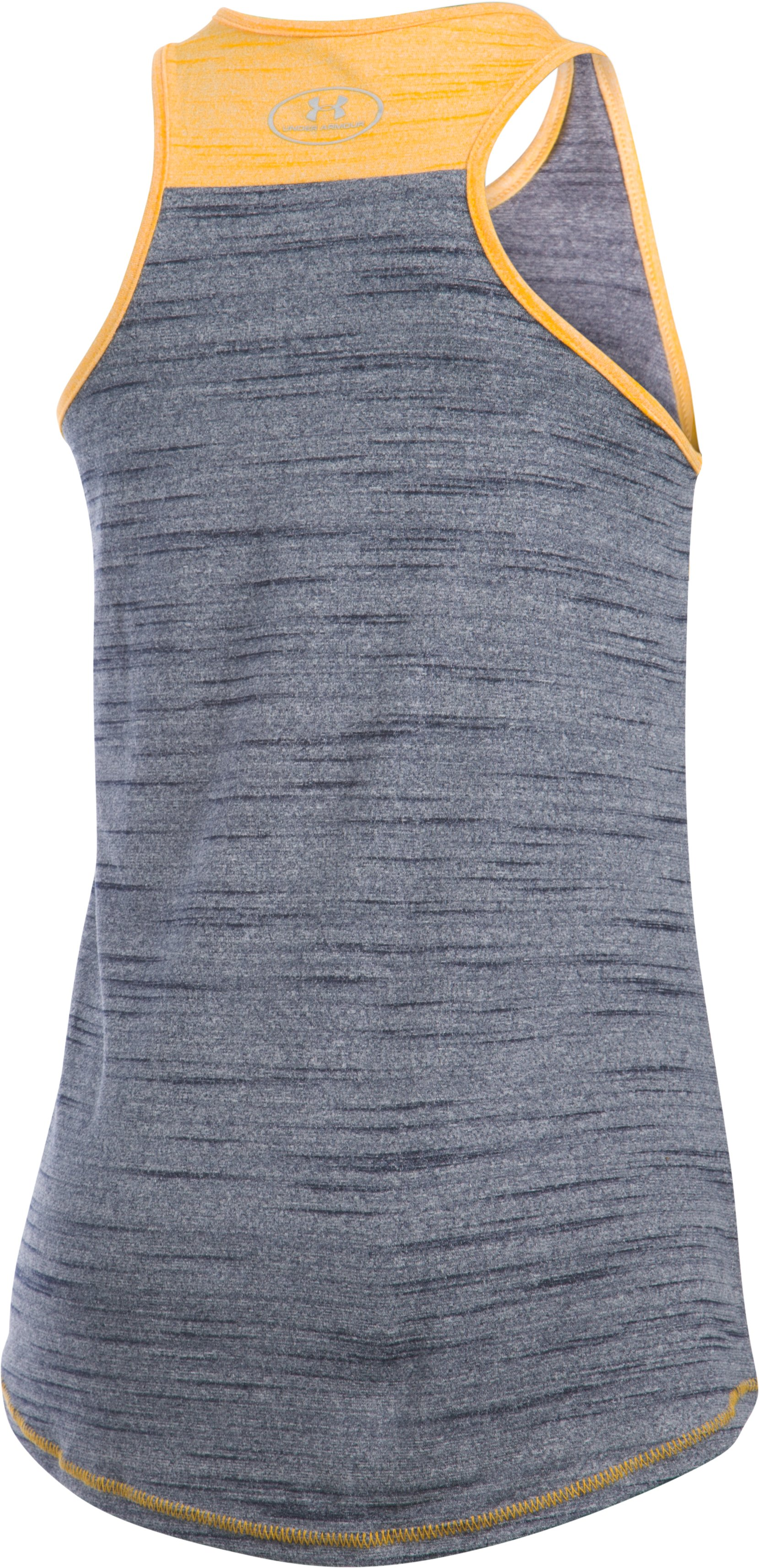 Girls' Milwaukee Brewers UA Tech™ Tank, Midnight Navy, undefined