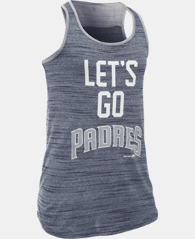 Girls' San Diego Padres UA Tech™ Tank  1 Color $17.99
