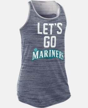 Girls' Seattle Mariners UA Tech™ Tank