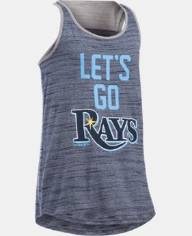 Girls' Tampa Bay Rays UA Tech™ Tank  1 Color $17.99