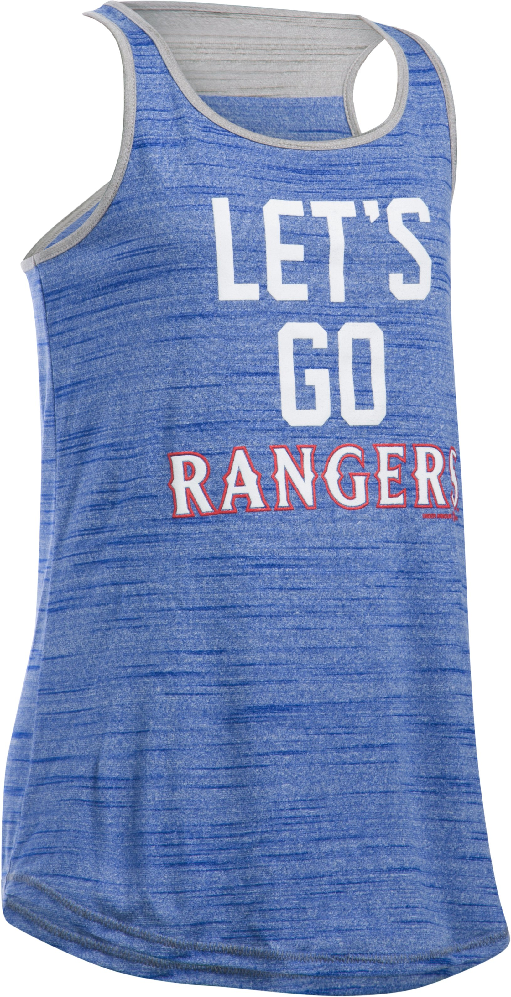 Girls' Texas Rangers UA Tech™ Tank, Royal,