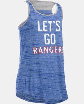Girls' Texas Rangers UA Tech™ Tank LIMITED TIME: FREE U.S. SHIPPING 1  Color Available $29.99