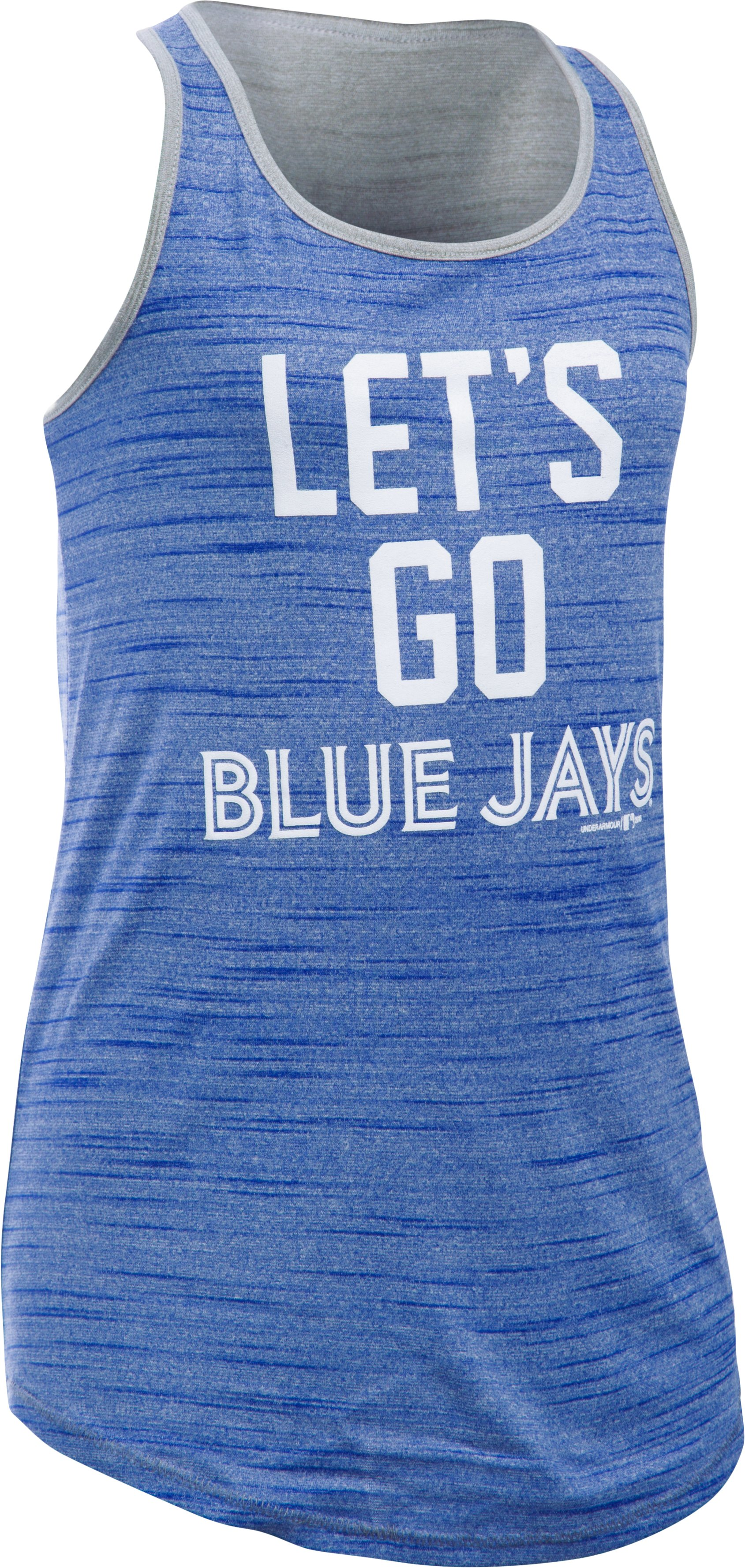 Girls' Toronto Blue Jays UA Tech™ Tank, Royal