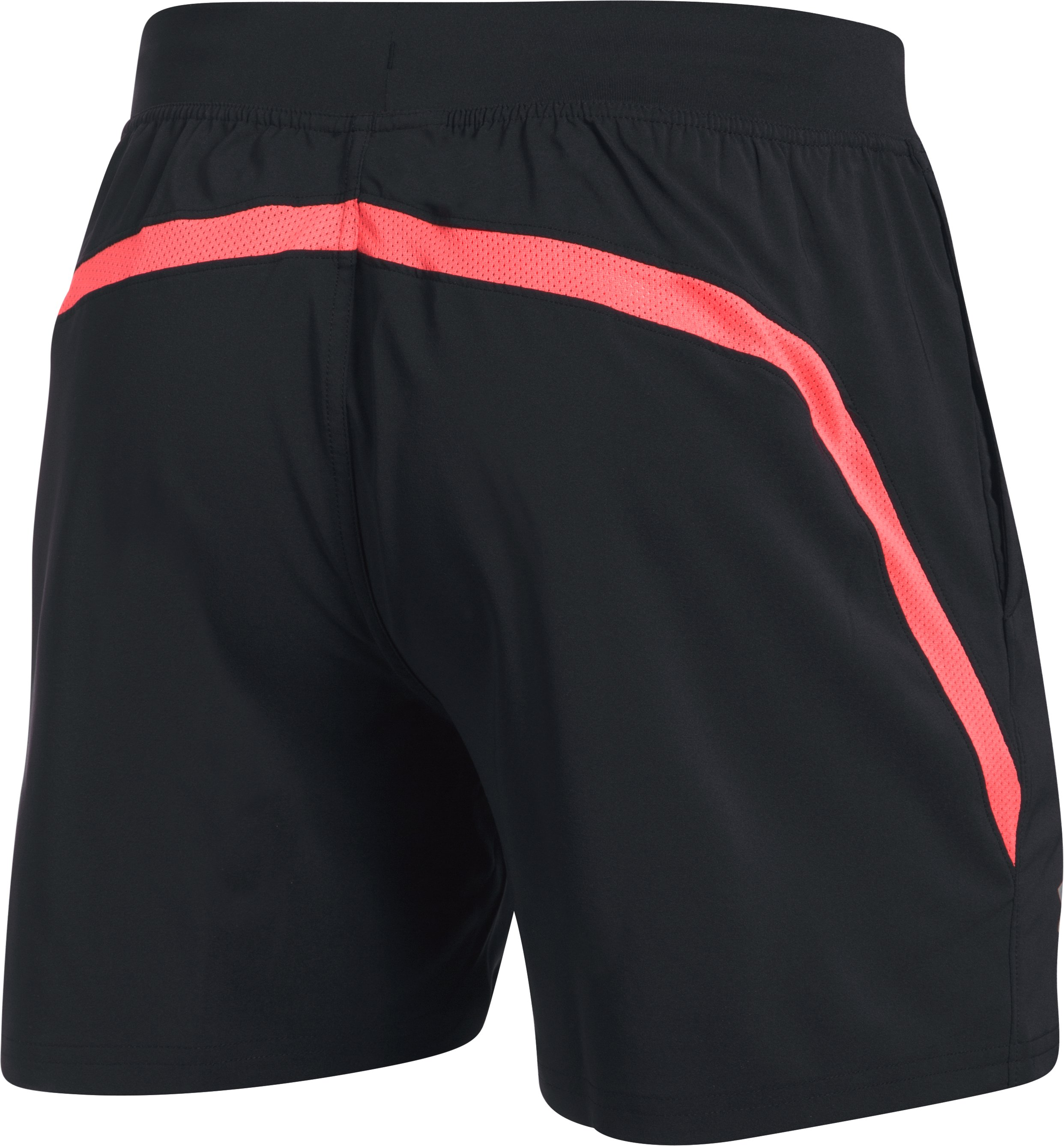 "Men's UA Speedpocket 5"" Shorts, Black ,"