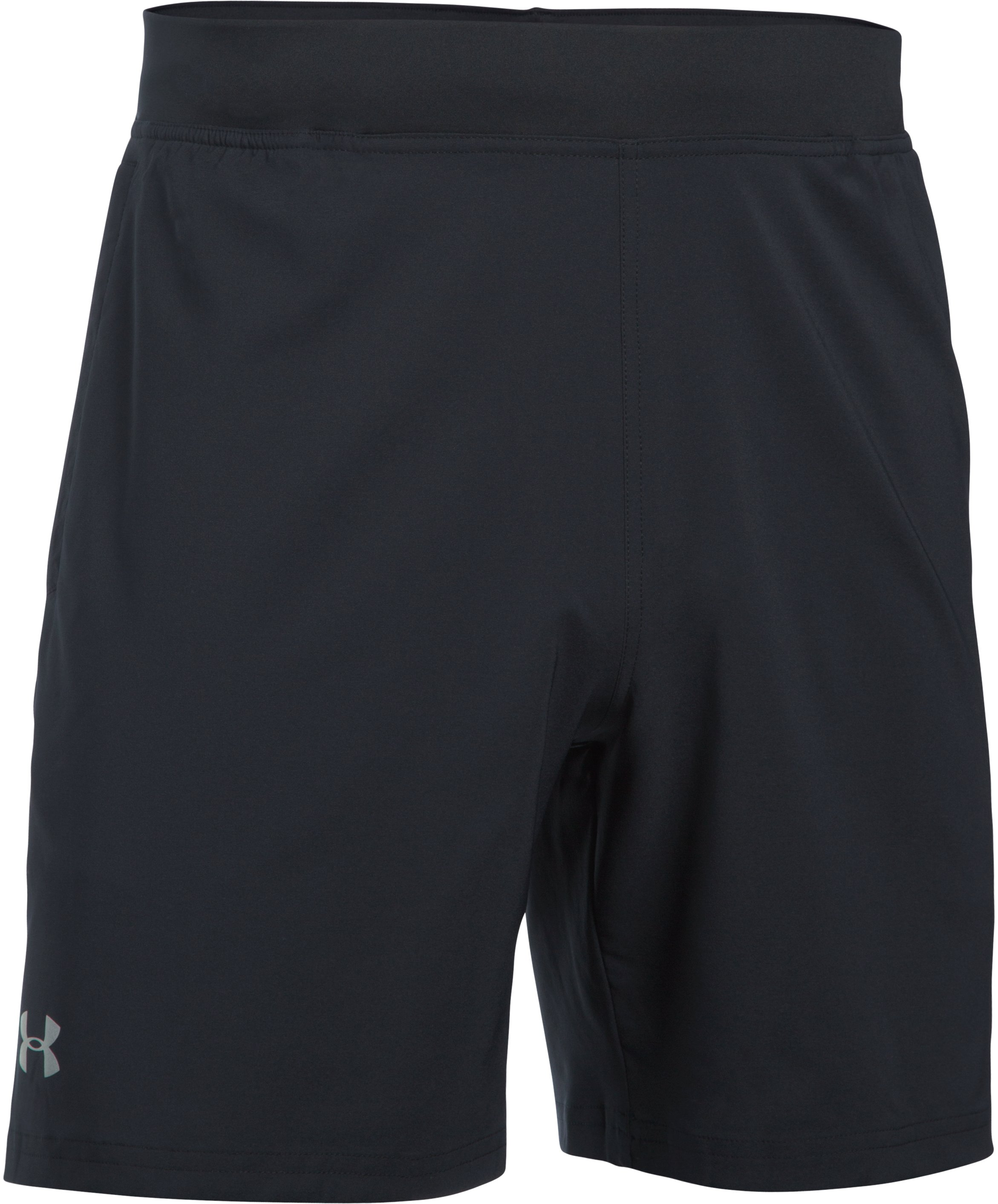 "Men's UA Speedpocket 7"" Shorts, Black ,"