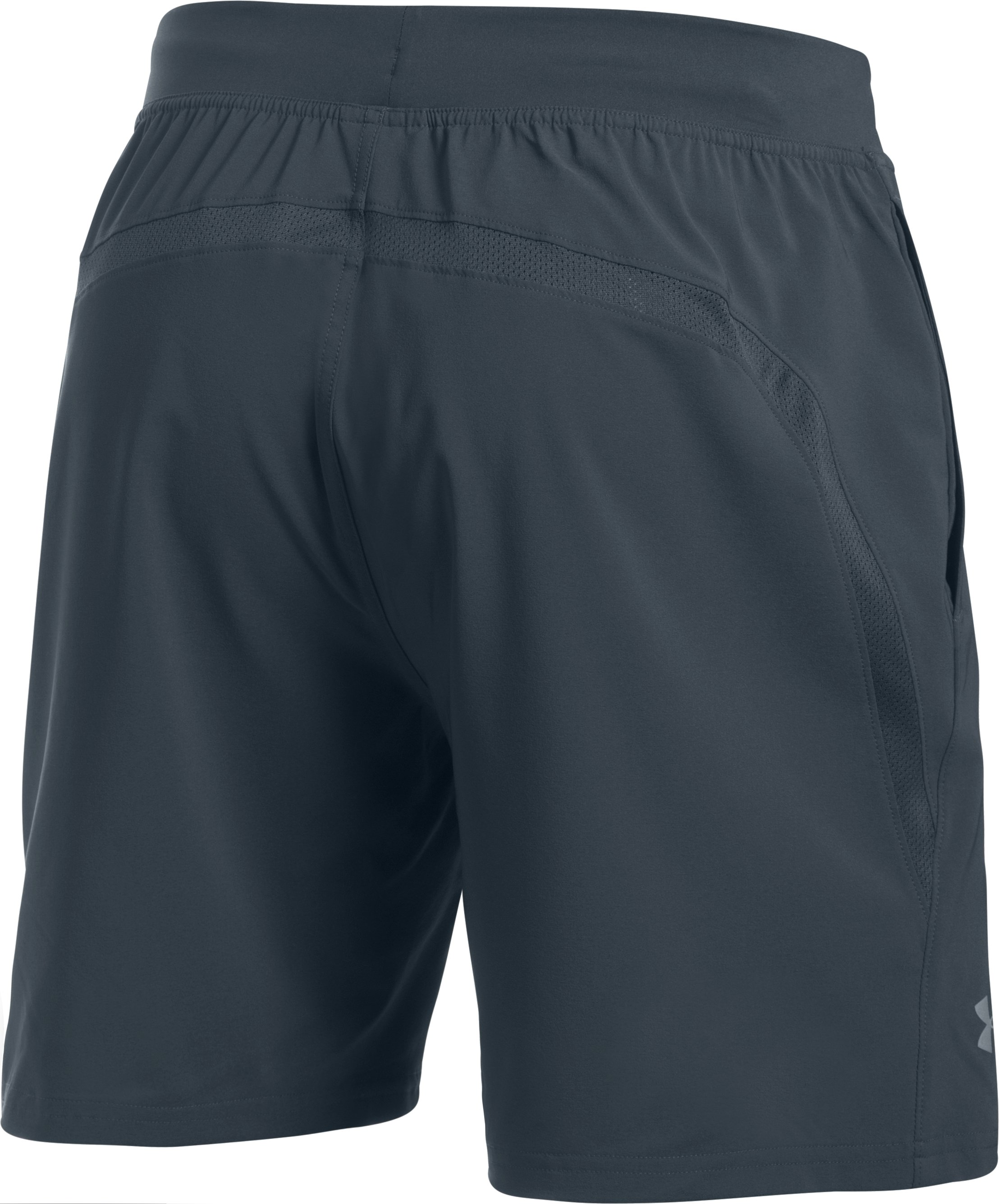"Men's UA Speedpocket 7"" Shorts, STEALTH GRAY, undefined"