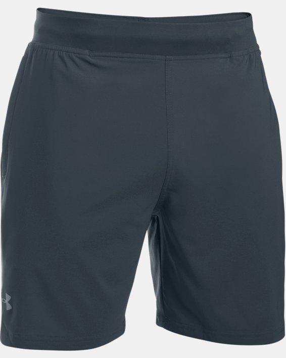 "Men's UA Speedpocket 7"" Shorts, Gray, pdpMainDesktop image number 4"