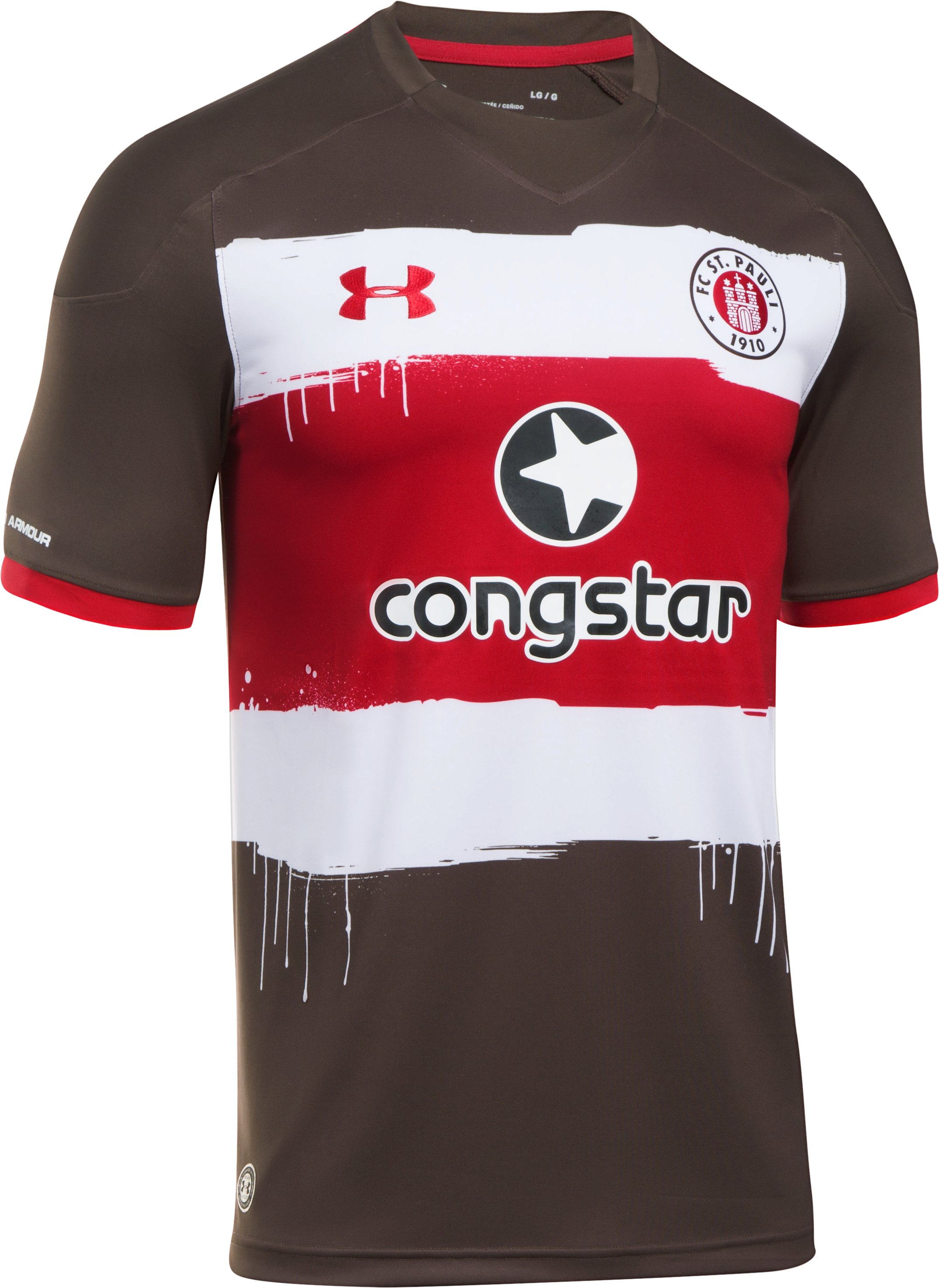 Men's St. Pauli Replica Jersey, Timber,