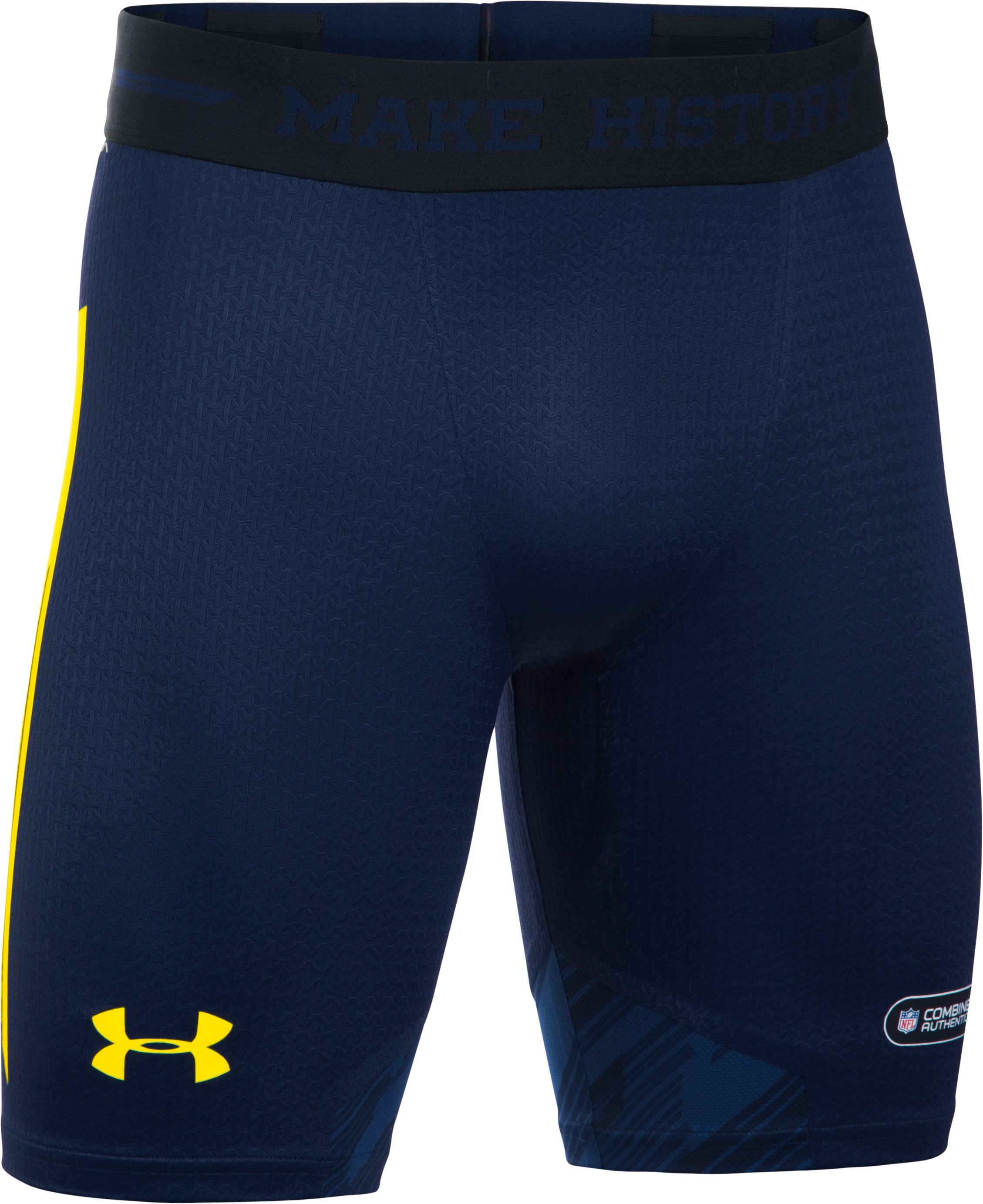 Men's NFL Combine Authentic UA ClutchFit™ Shorts, Cadet
