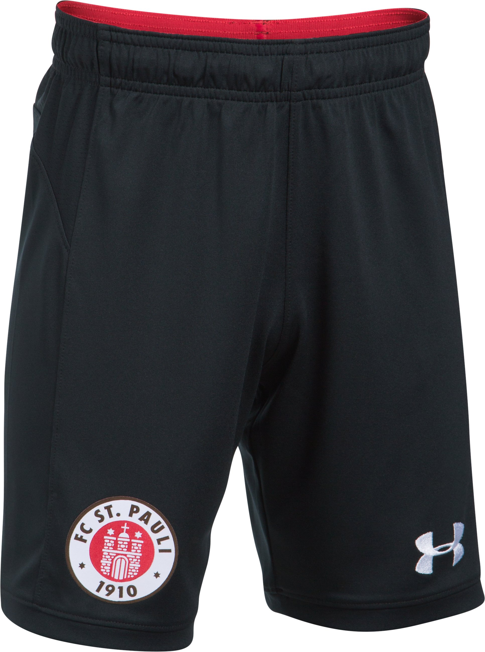 Kids' St. Pauli Rep Inset Shorts, Black