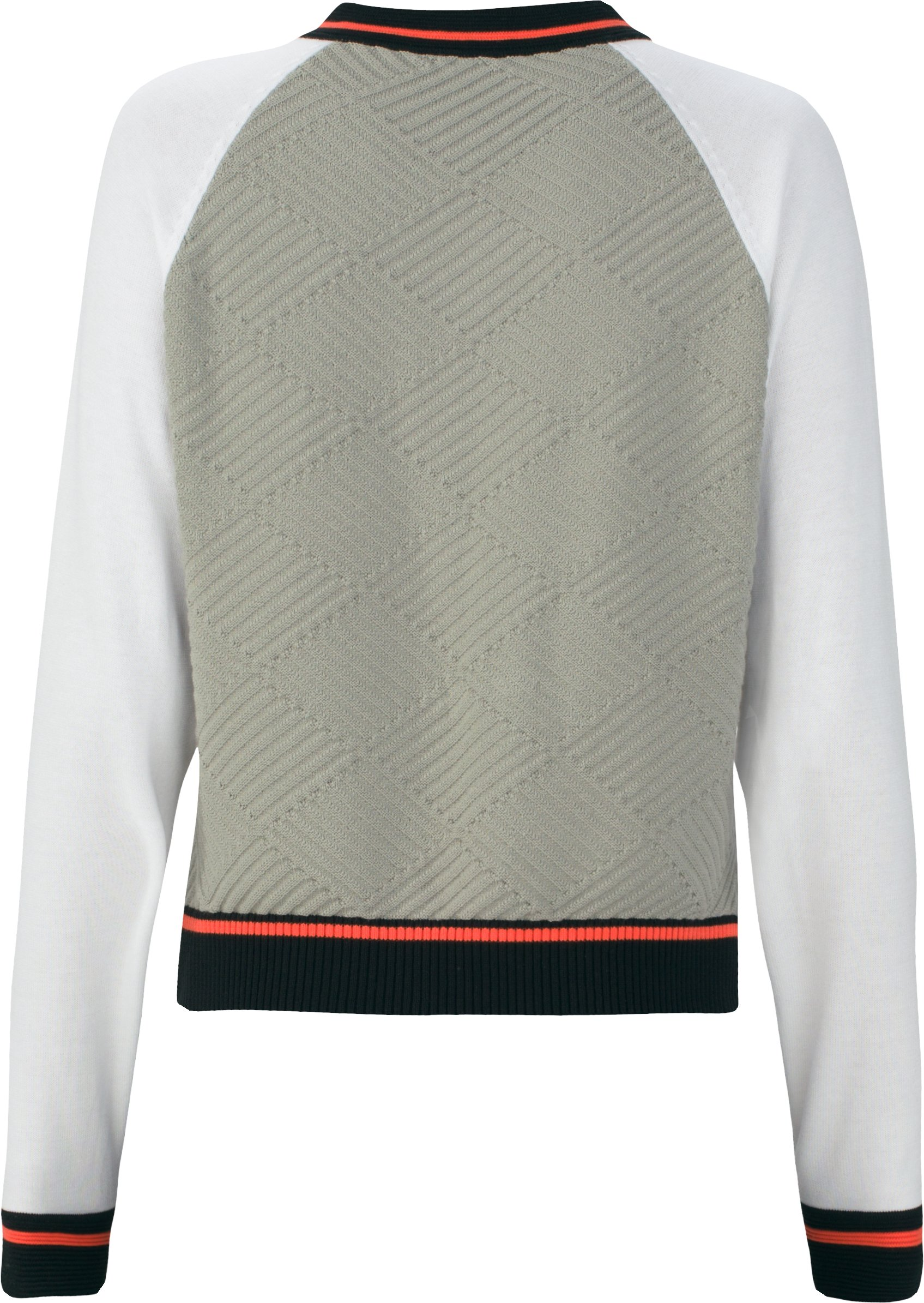 Women's UAS Fieldhouse V-Neck Knit Sweater, Gray