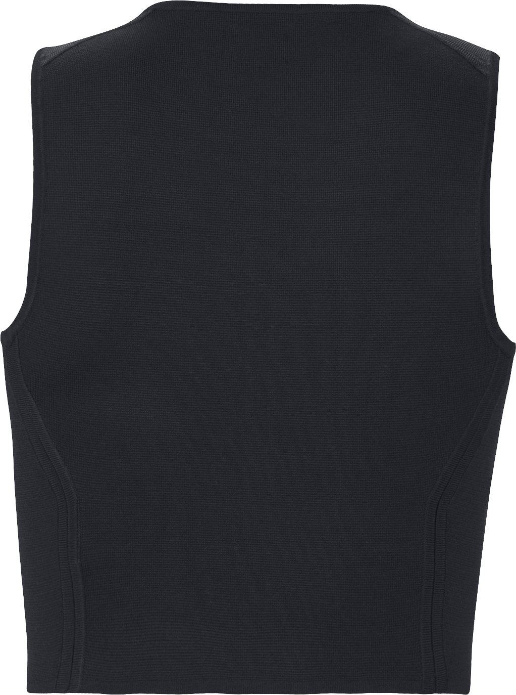 Women's UAS Racer Cropped Tank, Black , undefined