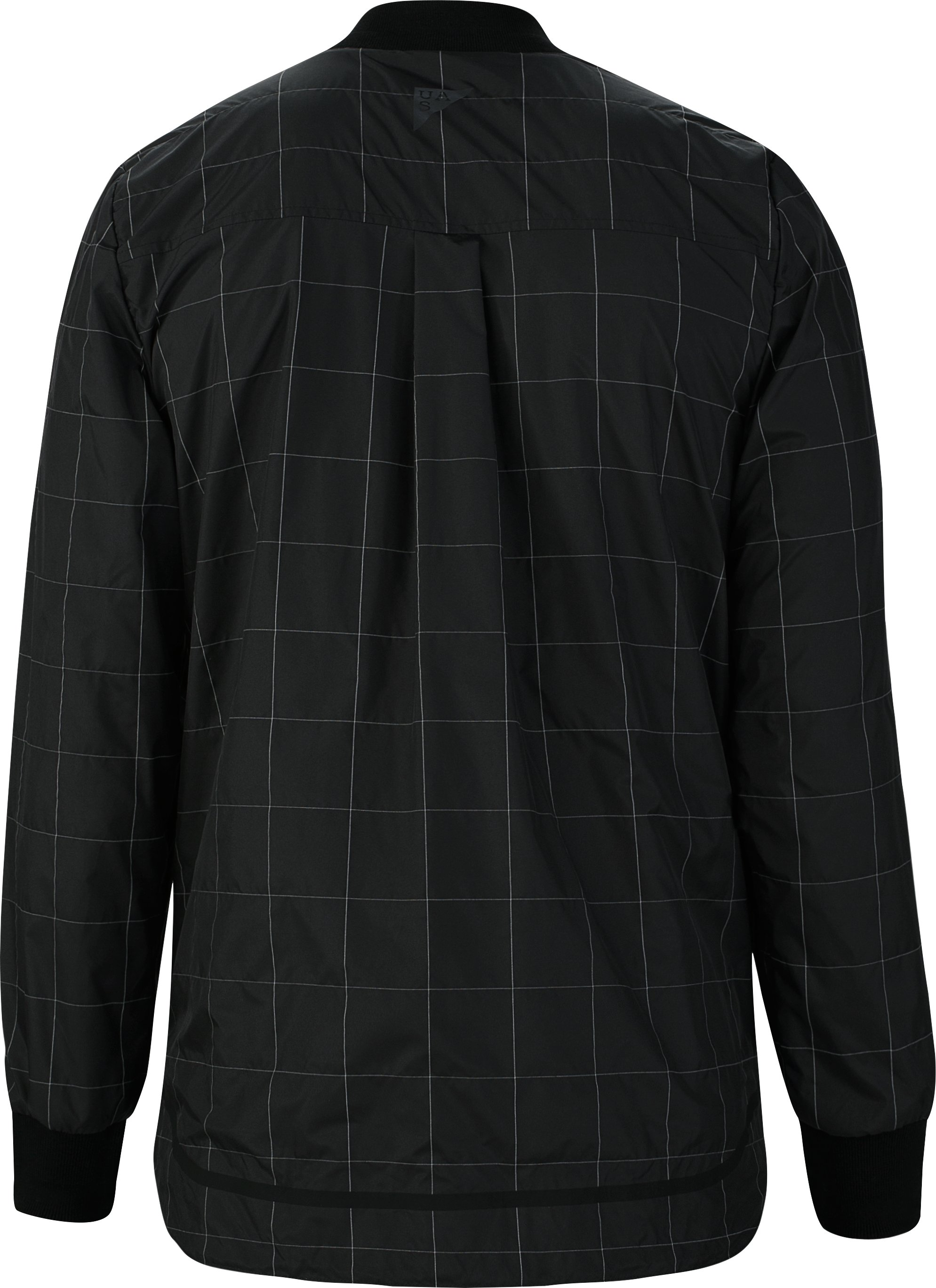 Men's UAS Fieldhouse Reflective Coaches Jacket, Black ,
