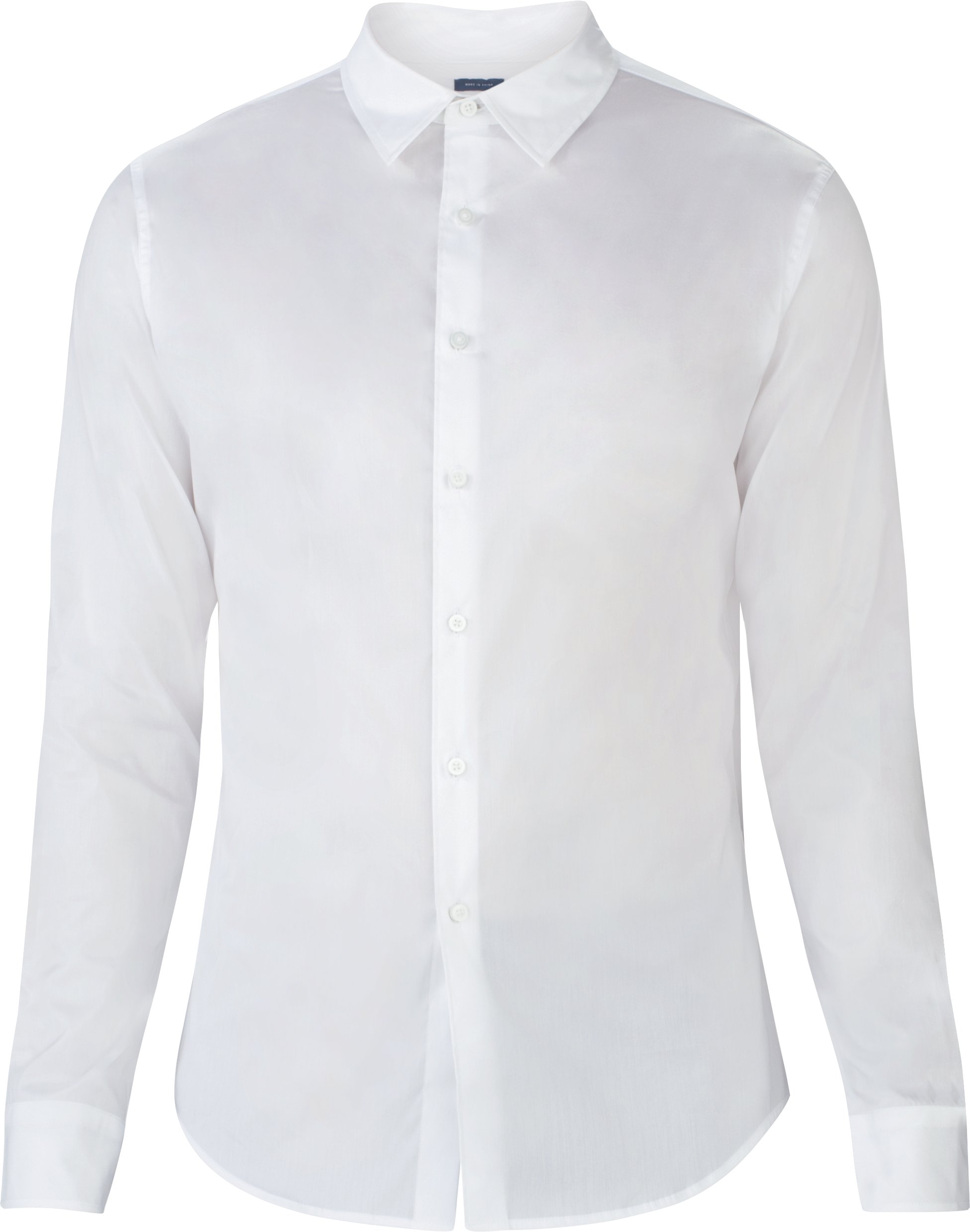 Men's UAS Draftday Solid Dress Shirt, White,